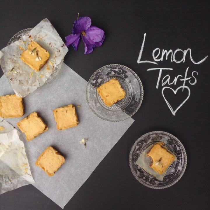 Lemon Tarts My WHolefood Romance