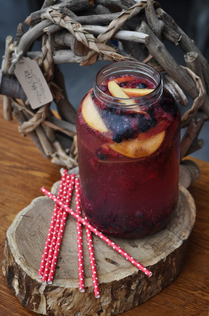 Berry Sparkling Acai Punch