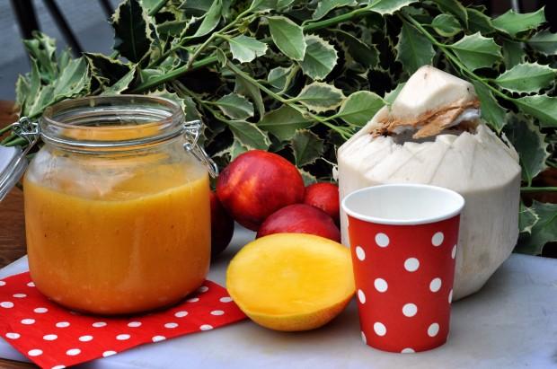 Coconut Chia & Mango Daquiri