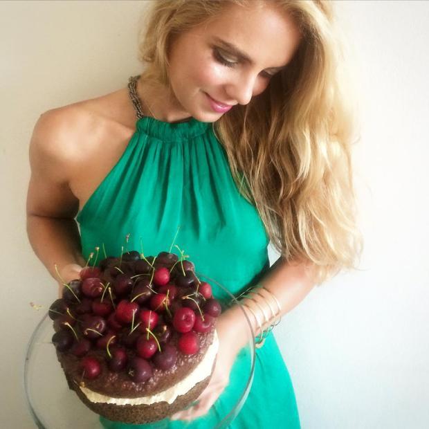 Poppy seed cake photo